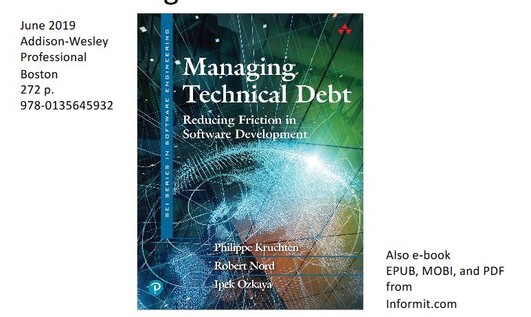 Anbefaling af bogen om teknisk gæld